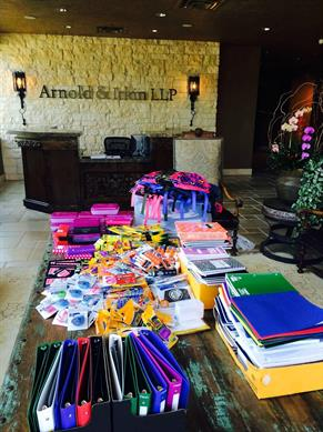 Houston Children's Charities Back-to-School