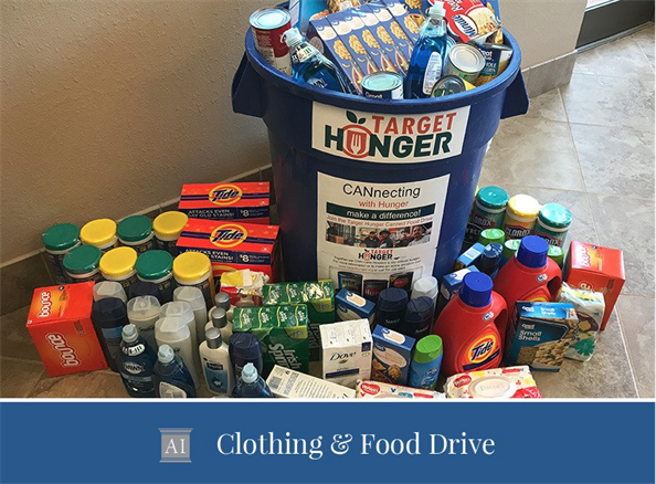 2nd Annual Clothing and Food Drive