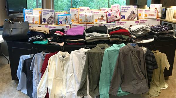 2018 Fall Clothing & Diaper Drive